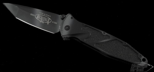 Vintage Microtech Socom Elite Tanto M/A Urban Camo - Front