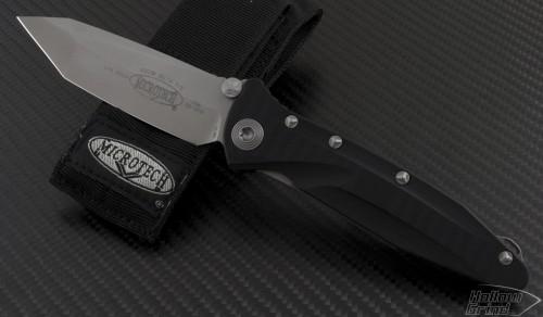 Microtech Knives Socom Elite T/E Folder Knife (4in Bead Blasted Plain S35-VN) 163-7 - Front