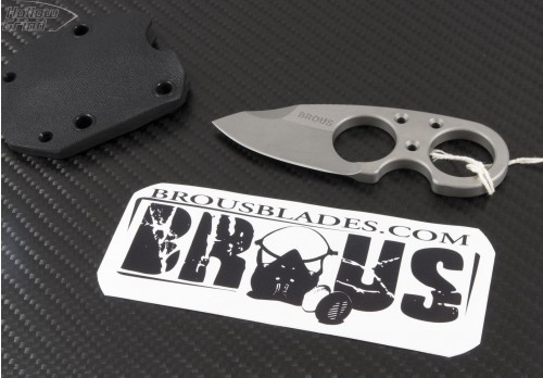 (#JB-Neck) Jason Brous - Neck Knife - Front