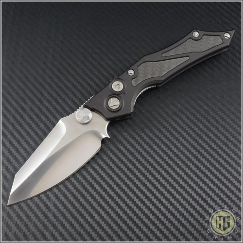 (#HG-0039) Microtech Select-Fire D/A Prototype 004 Hand Rubbed Satin - Front