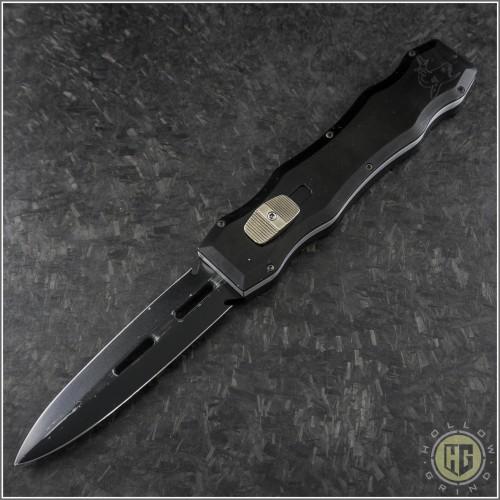 (#HG-0047) Desert Knife Works Sandshark D/E Black - Front