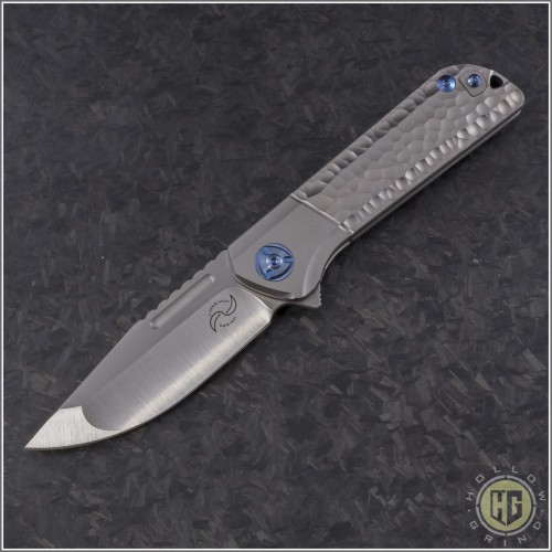 (#LM-LY-TI) Liong Mah Lanny with Sculpted Titanium Handle - Front