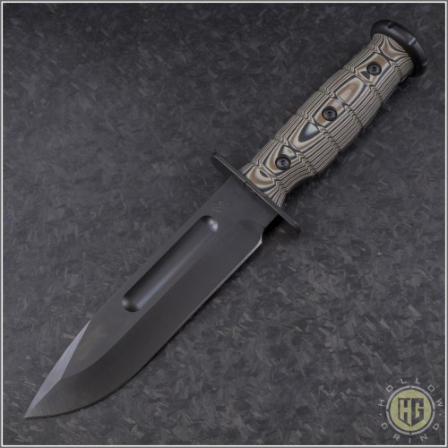 (#MK103SP-12LE) Medford Knives USMC Fighter - Front