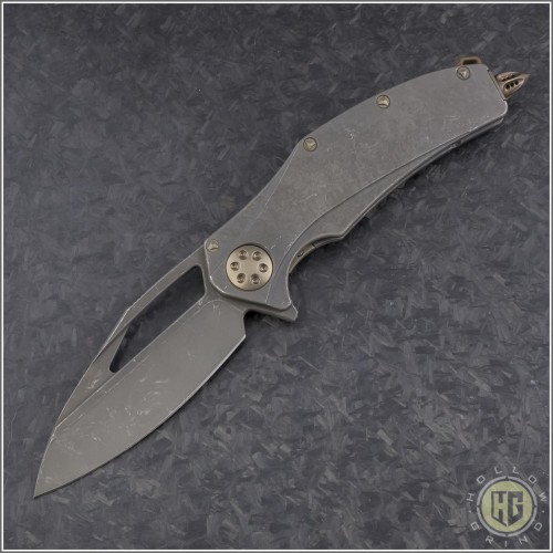 (#MTC-0294) Marfione Matrix-R Fallout W/ Copper inlay - Front