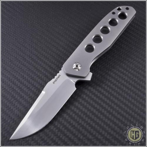 (#PENA-TAL-001) Pena Knives Talon Flipper - Front