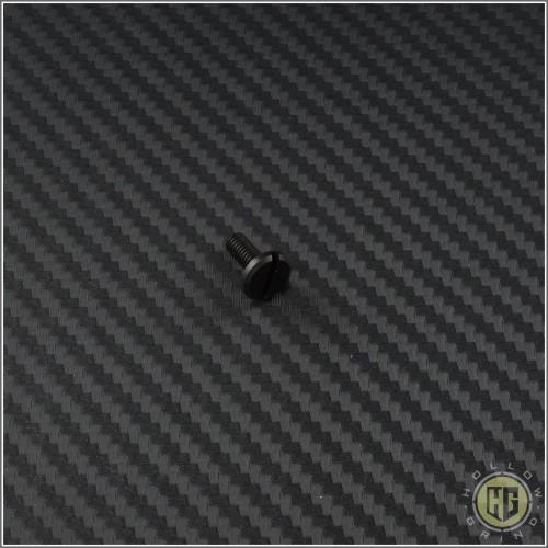 "(#RH-PVT-3-BK) Rick Hinderer XM18 3.0"" SS Nitride Coated Pivot Screw - Front"