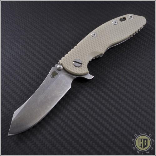 "(#RH-XM1835-26) Rick Hinderer XM-18 3.5"" Skinner Stonewash - Front"