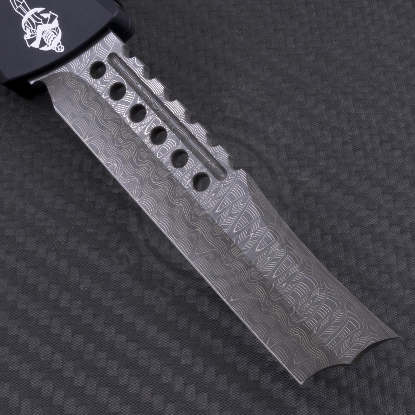 Microtech Knives Custom Combat Troodon Straight Razor