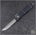 (#123-5) Microtech Ultratech T/E Satin Partially Serrated - Front