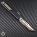 (#119-13CC) Microtech Ultratech Hellhound Bronzed Apocalyptic Plain - Back