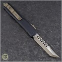 (#119-13) Microtech Ultratech Hellhound Bronzed Apocalyptic Plain - Back