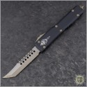 (#119-13) Microtech Ultratech Hellhound Bronzed Apocalyptic Plain - Front