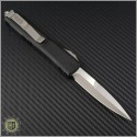 (#120-4CCb) Microtech Ultratech Bayonet Satin Plain Contoured Chassis - Back