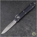 (#121-10CC) Microtech Ultratech S/E Stonewash Plain - Front