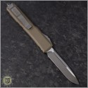 (#121-4TA) Microtech Tan Ultratech S/E Satin Plain - Back