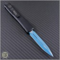(#122-1JK) Microtech Ultratech D/E Blue Blade Plain - Back