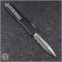 (#122-5) Microtech Ultratech D/E Satin Partially Serrated - Back