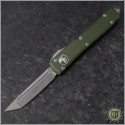 (#123-10APOD) Microtech OD Green Ultratech Apocalyptic T/E Plain - Front