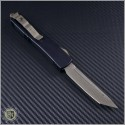 (#123-13DC) Microtech Death Card Ultratech T/E Bronze Plain - Back