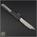 (#123-5CC) Microtech Ultratech T/E Satin Partially Serrated - Back