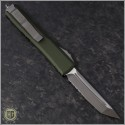 (#123-5OD) Microtech OD Green Ultratech T/E Satin Partially Serrated - Back