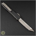 (#123-6CC) Microtech Ultratech T/E (Tanto) Satin Full Serrated - Back