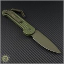 (#135-1GR) Microtech OD Green LUDT Green Hardware / Black - Back