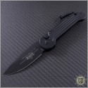 (#135-1T) Microtech LUDT Black Standard Tactical - Front