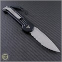 (#135-5) Microtech LUDT Satin Partially Serrated - Back