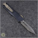 (#138-16) Microtech Troodon D/E Signature Damascus - Back