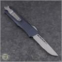 (#139-10-Elmax) Microtech Troodon S/E Stonewash Plain - Back