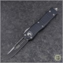 (#139-1) Microtech Troodon S/E Black Plain - Front