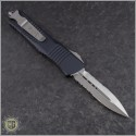 (#142-5) Microtech Combat Troodon D/E Satin Partially Serrated - Back
