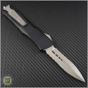 (#142-8) Microtech Combat Troodon D/E Bead Blast Partially Serrated - Back