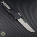 (#143-10S) Microtech Combat Troodon S/E Stonewash Plain - Smooth Handle - Back