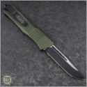 (#143-1OD) Microtech Combat Troodon S/E Plain w/ OD Green Handle - Back