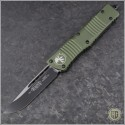 (#143-1OD) Microtech Combat Troodon S/E Plain w/ OD Green Handle - Front