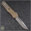 (#143-4TA) Microtech Tan Combat Troodon S/E Satin Plain - Back