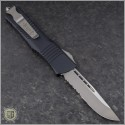 (#143-5) Microtech Combat Troodon S/E Satin Partially Serrated - Back