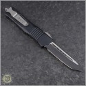 (#144-1) Microtech Combat Troodon Tanto Black Plain - Back