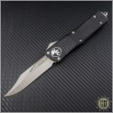 (#146-4) Microtech Combat Troodon Bowie Satin Plain - Front