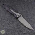 (#160-11AP) Microtech Socom Elite M/A Apocalyptic Partially Serrated - Back
