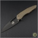 (#196-1BZ) Microtech Sigil Bronzed with Copper DLC Standard - Front