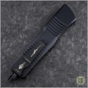 (#219-16BKTI) Microtech Combat Troodon Hellhound Damascus Standard CF Top - Additional View