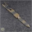 (#223-1TC) Microtech Tan Camo Spartan Ultratech D/E Plain - Back