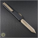 (#223-D15) Microtech Ultratech Spartan Bronze Double Full Serrated - Back