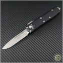 (#231-10) Microtech UTX-85 S/E Stonewash Plain - Front