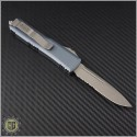 (#231-11APGY) Microtech Gray UTX-85 S/E Apocalyptic Part Serr - Back