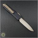 (#231-13) Microtech UTX-85 S/E Bronze Plain - Back