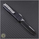 (#231-1) Microtech UTX-85 S/E Black Plain - Back
